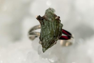 Moldaviet Zilveren Ring