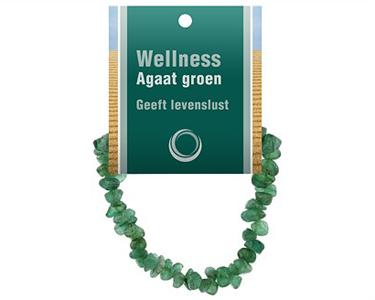 Agaat groen Armband