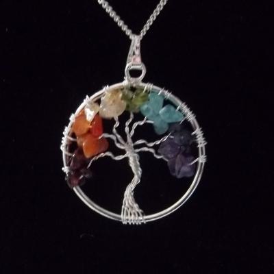 Tree of life chakra hanger