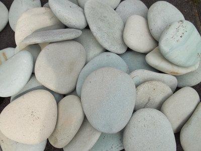 Jade platte steen natuurlijk gevormd