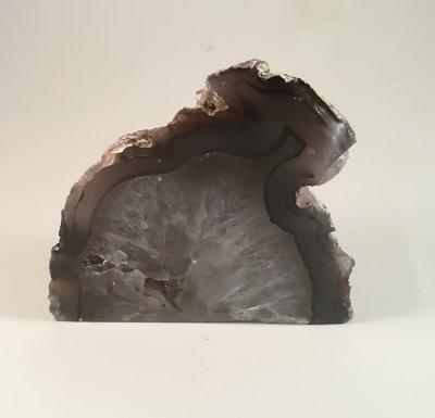 Agaat geode klein