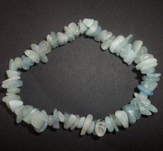 Aquamarijn armband