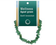 groene agaat armband